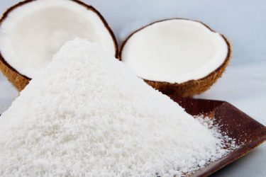 What is desiccated coconut